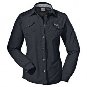 Jack Wolfskin MOSQUITO SAFARI SHIRT Women phantom