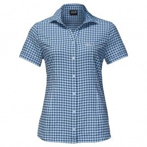 Kepler Shirt Women - Ocean Wave Checks