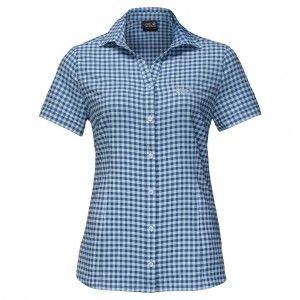 Kepler Shirt Women - Ocean Wave Checks