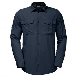 Atacama Roll-Up Shirt Night Blue