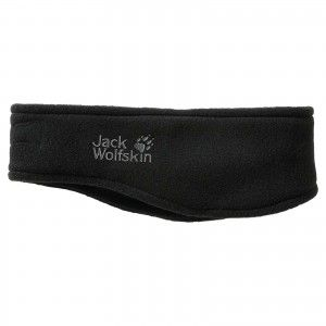 Jack Wolfskin Basic Headband - Black