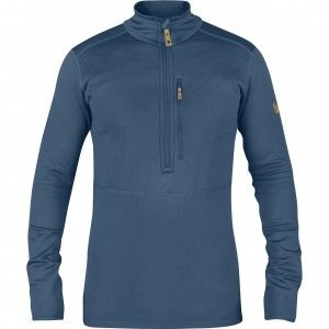 Fjallraven Keb Fleece Half Zip Heren - Uncle Blue