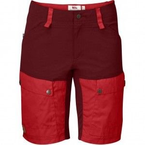 Keb Shorts W - 326-320 Ox Red/Red
