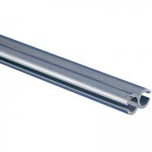 Koppelprofiel PVC Grijs 250 cm