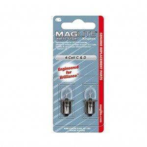 Maglite 4D-cell Reservelampjes