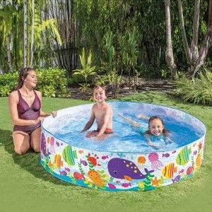 Intex Ocean Play SnapSet Pool Ø 183 cm H 38 cm 56452NP