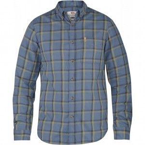 Övik Flannel Shirt LS - 520 - Uncle Blue