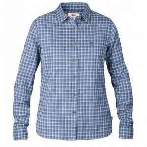 Övik Flannel Shirt LS W - 525 UN Blue
