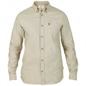 Övik Oxford Shirt LS - 191 Light Beige