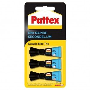 Pattex Secondenlijm 3 In 1 1
