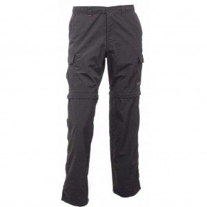 Regatta Latice Zip-Off Trousers - Ash