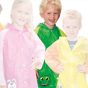 Kinderregenjas Dino