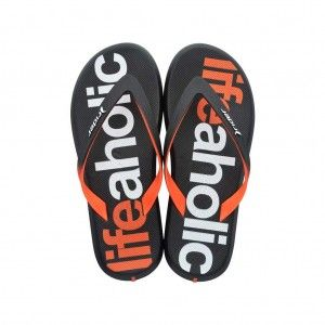 Rider Energy Kids Black/Orange 81768 Slippers