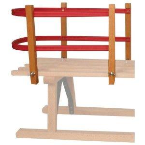 Nijdam Rugleuning voor houten slede