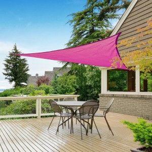 Schaduwdoek Driehoek 3.6 x 3.6 x 3.6 Roze