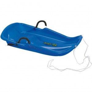 Nijdam Slede Plastic Twister Blauw