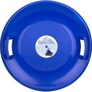 Nijdam Glijschotel Snow Disc Blauw