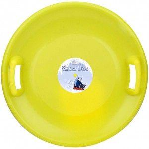 Slee Glijschotel Snow Disc Geel