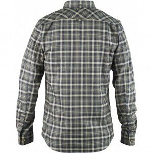 Stig Flannel Shirt - 550 - Black