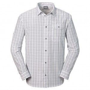 Tasman Shirt M - white rush checks