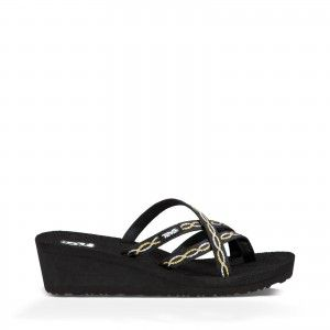 Teva Mush Mandalyn Wedge Ola 2 Knot Metallic 1000099