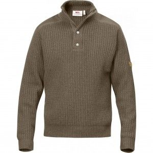 Fjallraven Varmland T-Neck Sweater 284 - Taupe
