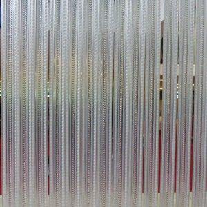 Vliegengordijn PVC Tris Strippen Wit