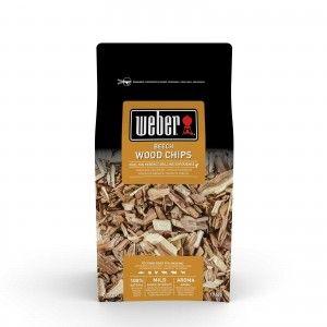 Weber Houtsnippers 0,7 kg Beech 17622