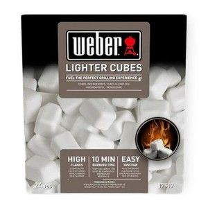 Weber® Aanmaakblokjes 24 stuks Wit