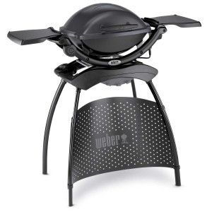 Weber Q 1400 Dark Grey Stand Barbecue 52020879