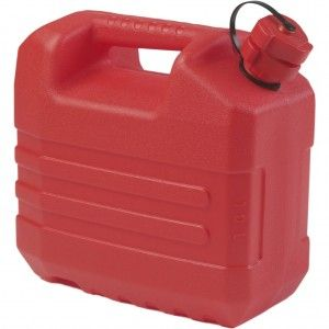 Jerrycan 10 L Rood