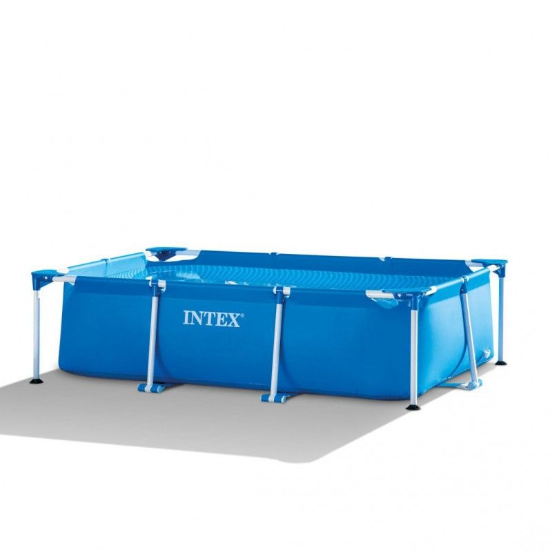 Intex metal frame zwembad 220x150x60cm for Intex pool 150 cm tief