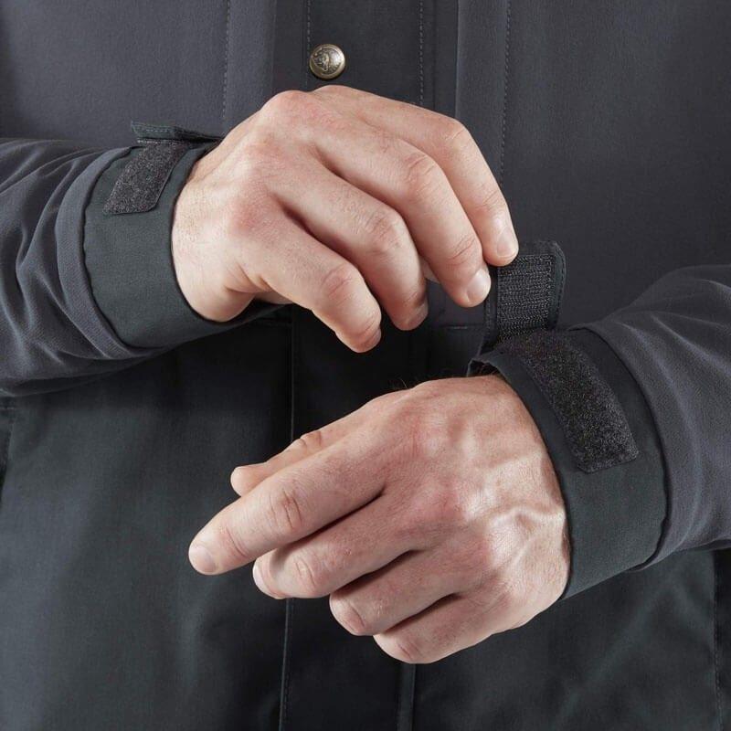 Övik Stretch Padded Jacket M Dark Navy