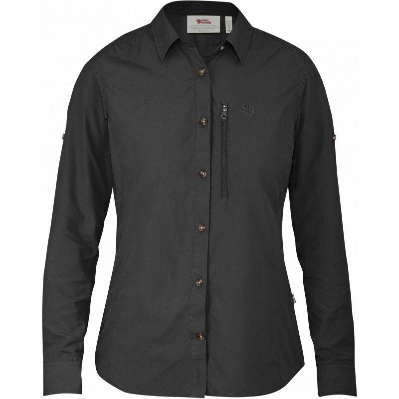 Abisko Hike Shirt LS W - 030 - Dark Grey