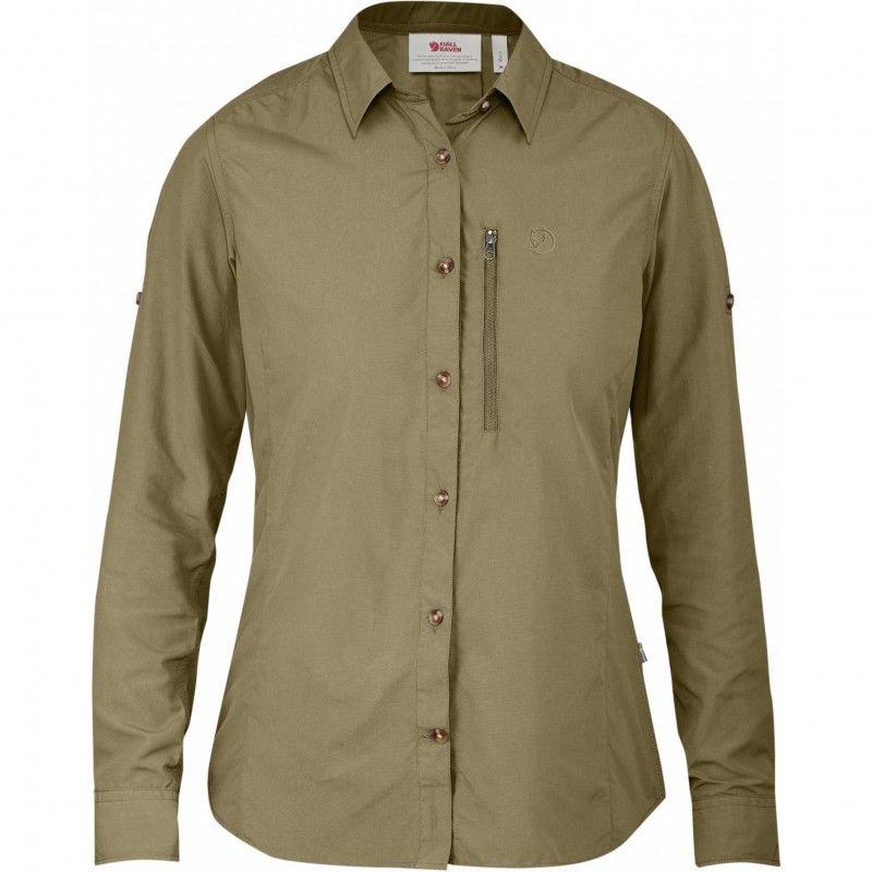 Abisko Hike Shirt LS W - 218 - Cork