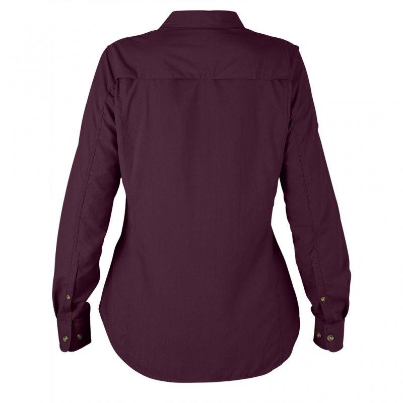 Abisko Hike Shirt LS W - 420 - Plum