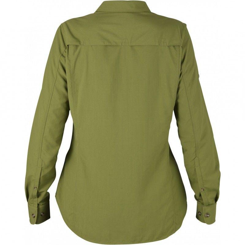 Abisko Hike Shirt LS W - 602 - Meadow Green