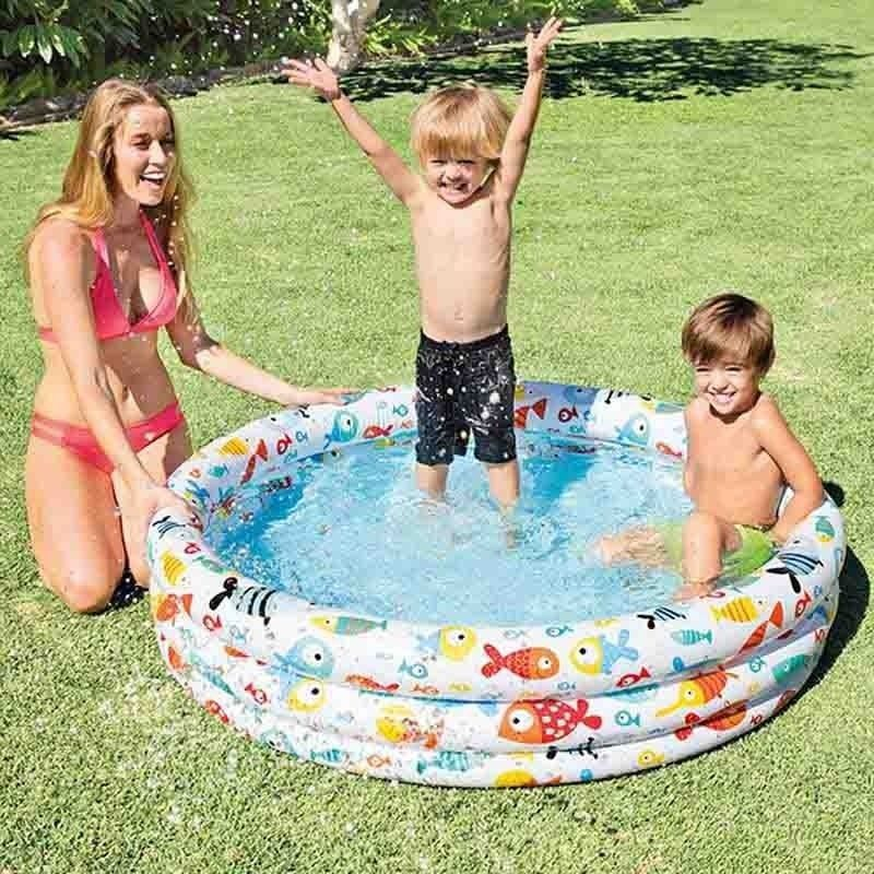Intex Fish Bowl Pool Ø 132 cm H 28 cm 59431NP
