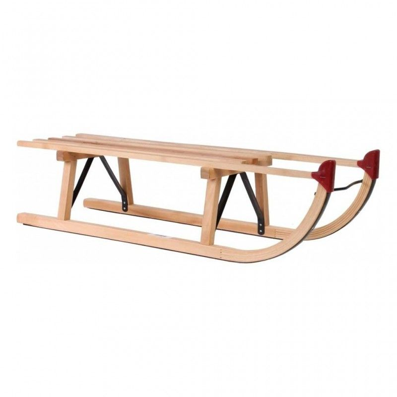 Houten Slee Davos 100 cm