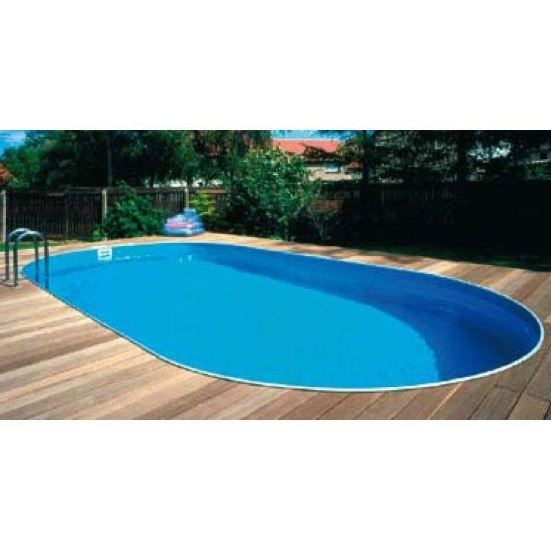 Inbouwzwembad tender pool ovaal 485 x 250 for Inbouw zwembad compleet