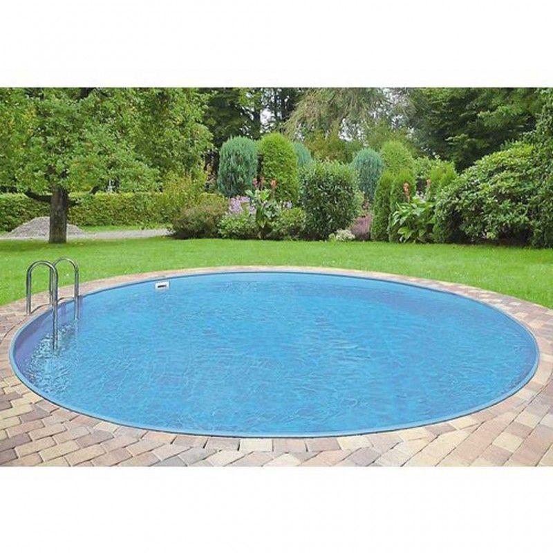 Inbouwzwembad rond set clever pool 300 x 120 for Inbouw zwembad compleet