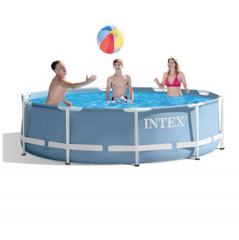 intex prism frame pool 305 x 76 cm zwembad. Black Bedroom Furniture Sets. Home Design Ideas