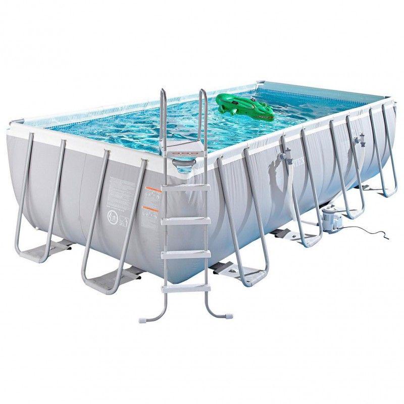 intex ultra frame pool 549 x 274 x 132 cm set zwembad zandfilter. Black Bedroom Furniture Sets. Home Design Ideas