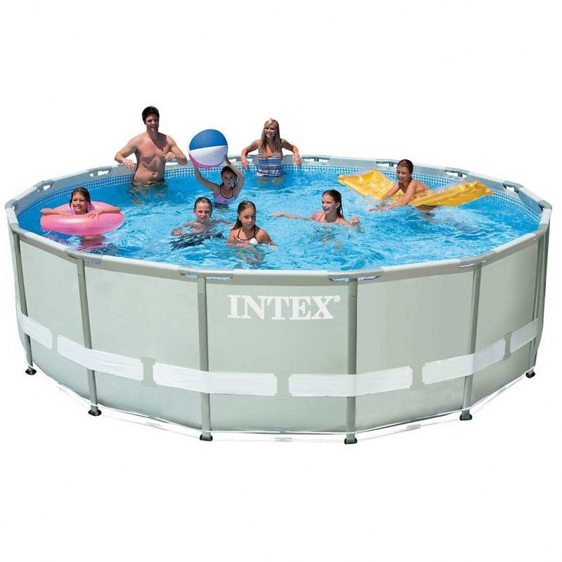 Intex Ultra Frame Pool Ø 488 cm x 122 cm SET