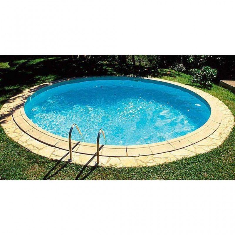 Inbouwzwembad Rond SET Platinum Pool 150 cm diep