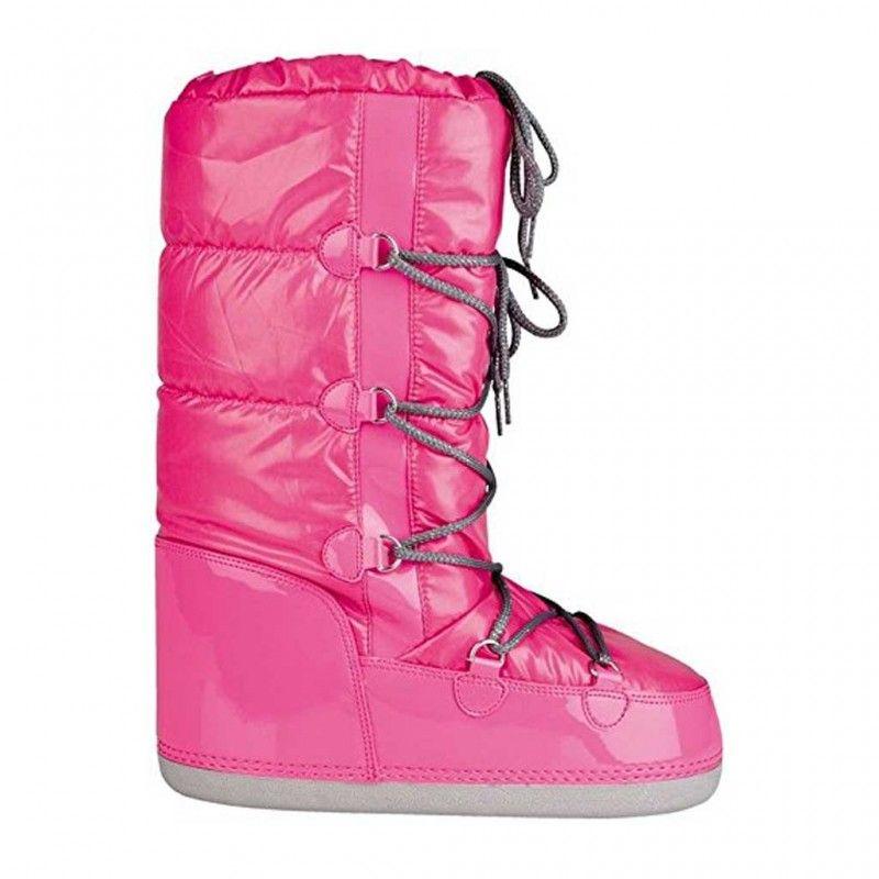 Snowboots Lak Dames Roze