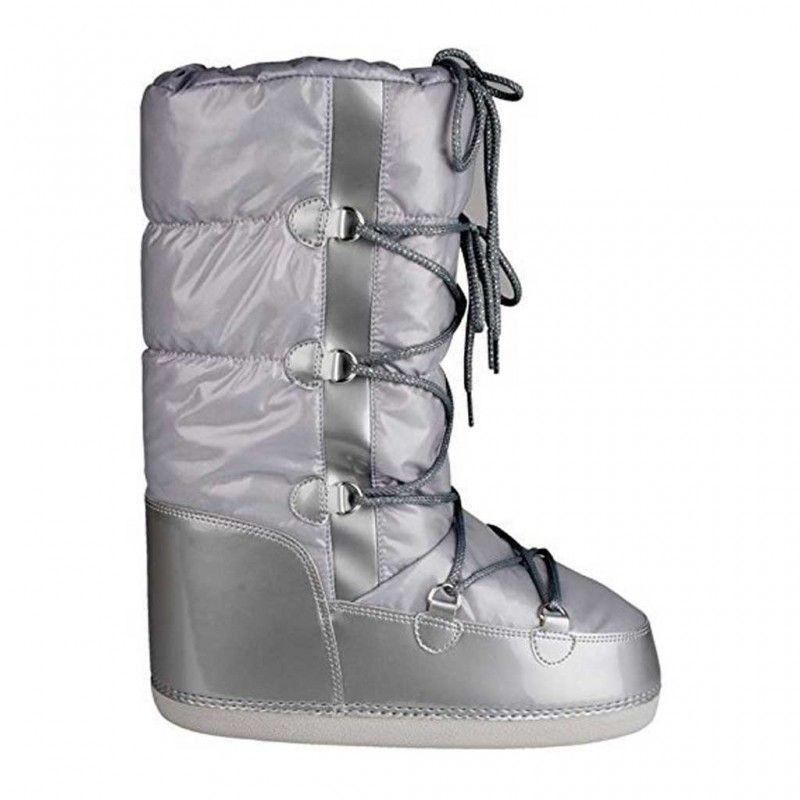 Snowboots Lak Dames Zilver