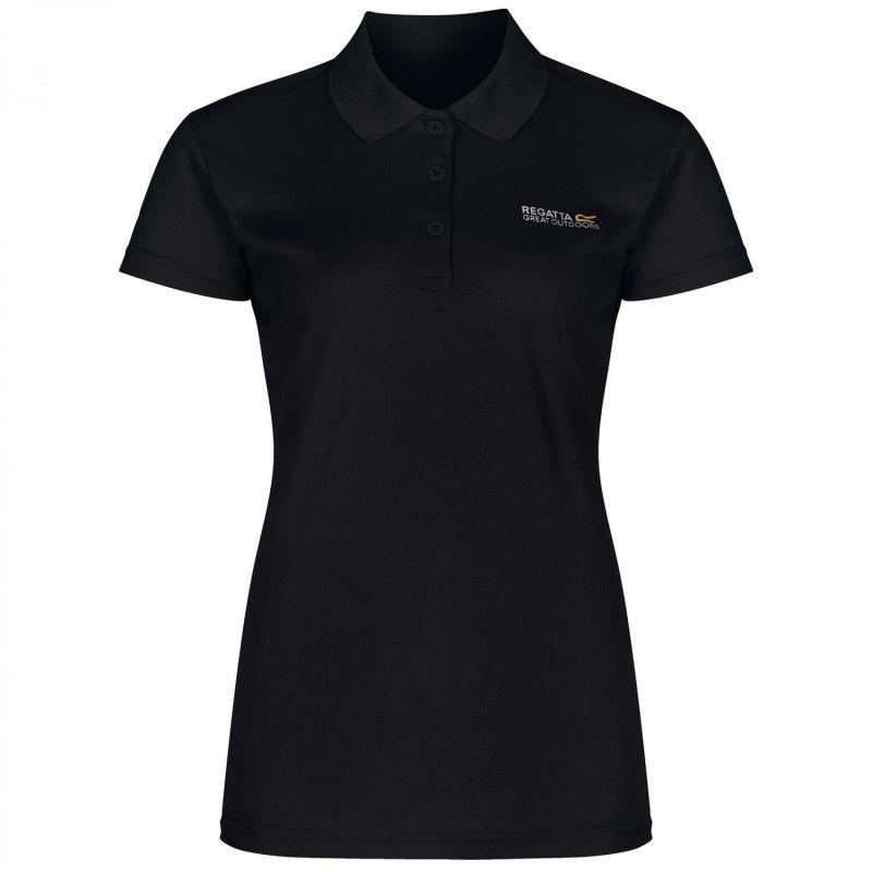 Maverik III Polo Shirt - Black - RWT115-800-MW
