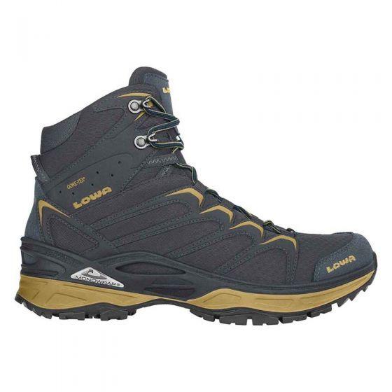 Innox GTX MID Ws Steel Blue Mustard 310603 9785 wandelschoenen van het merk Lowa kopen? STASSAR.nl