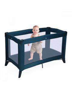 Kindercampingbed blauw